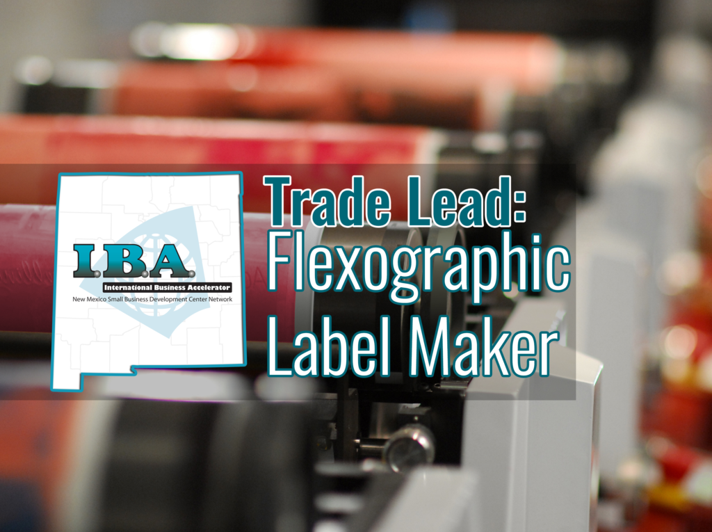 Trade Lead – Label Manufacturer